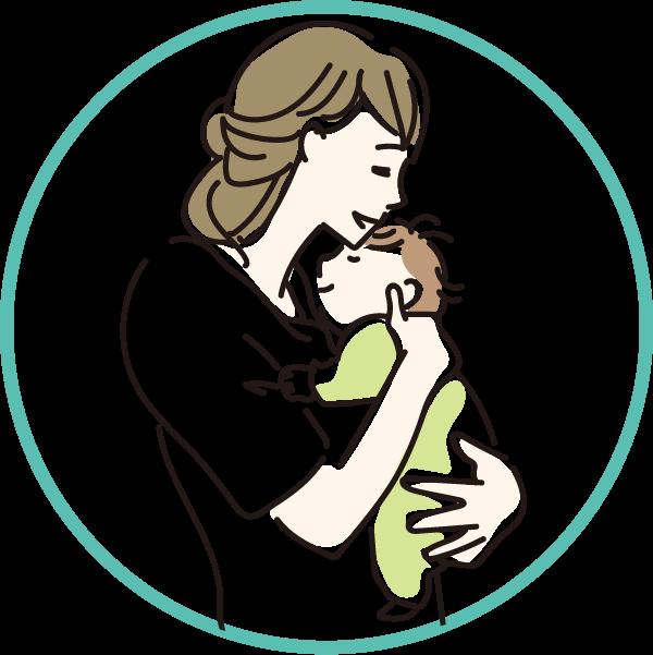目や口に入っても安全なので赤ちゃんにも安心